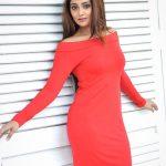 Natasha Doshi, red dress, charming