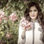 Natasha Singh, Gypsy Actress, rare, unseen, flower