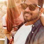 Nayanthara, Vignesh Shivan, hd, wallpaper, selfie, nayan, nayantara
