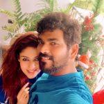 Nayanthara, Vignesh Shivan, lover, selfie, couple, tamil actress