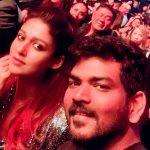 Nayanthara, Vignesh Shivan, new year, celebration, selfie, cute