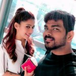Nayanthara, Vignesh Shivan, selfie, couple, tamil actress, nayan