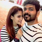 Nayanthara, Vignesh Shivan, selfie, couples, celebrity