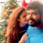 Nayanthara, Vignesh Shivan, selfie, hd, couples, Christmas