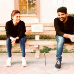 Nayanthara, hd, wallpaper, Vignesh Shivan, couple