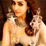 Nayanthara, saree, award, tamil actress, hd