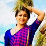 Nayanthara, saree, viswasam movie, trailer, hd,