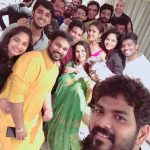 Nayanthara, selfie, friends, diwali, tamil celebrities