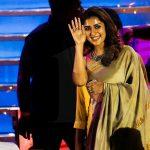 Nayanthara, unseen, rare, saree