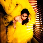 Nayanthara, yellow dress, photoshoot, tamil actress, nayan