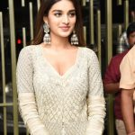 Nidhhi Agerwal, function dress, naughty