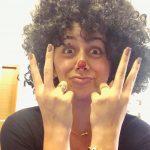 Nikki Galrani, Charlie Chaplin 2 Actress, funny hair style