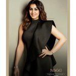 Nikki Galrani, Kee Heroine, black dress