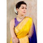 Nikki Galrani, Kee Heroine, yellow saree