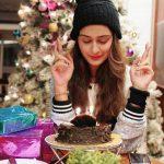 Payal Rajput, Ishqaa Actress, cake, birthday, function