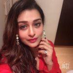 Payal Rajput, Ishqaa Actress, selfie, top view. red lipsstick