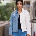 Payal Rajput, Marriage Palace Actress, modern shirt, blue jean