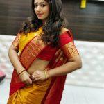 Poonam Bajwa, yellow saree, gorgeous