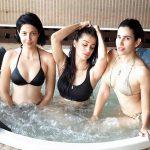 Raai Laxmi, glamour, swimming dress, bikini