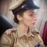 Raai Laxmi, police, movie, police dress