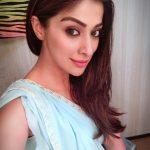Raai Laxmi, saree, selfie, actress