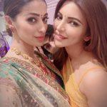 Raai Laxmi, selfie, saree, diwali, Shama Sikander