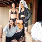 Raai Laxmi, sizzing, friends, bikini