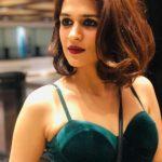 Shraddha Das, Kotigobba 3 heroine, green bra, sweet girl