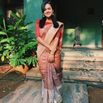 Shraddha Srinath, instagram, actress, saree, in saree