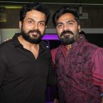 Str, Simbu, 2019, new year party, karthi, balck dress