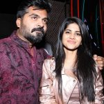 Str, Simbu, 2019, new year party, megha akash