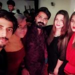 Str, Simbu, 2019, new year party, ramya, girls, night