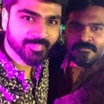 Str, Simbu, 2019, new year party, sirish, selfie