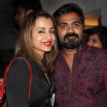 Str, Simbu, 2019, new year party, trisha, friend