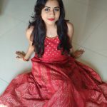 Suza Kumar, latest, hd,red dress