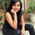 Suza Kumar, maanik, actress, black dress
