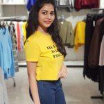 Suza Kumar, modern dress, cute