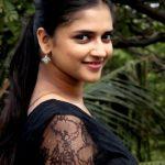 Vasundhara Kashyap, black dress, side pose