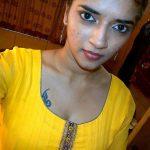 Vasundhara Kashyap, yellow chudi, top view, spicy