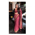 Vidya Balan, Mission Mangal Actress, pink saree, handsome