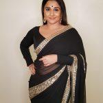 Vidya Balan, N.T.R Kathanayakudu Actress, black saree, classy