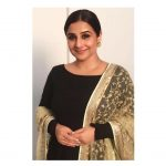Vidya Balan, N.T.R Kathanayakudu Actress, smile, black chudi, naughty
