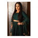 Vidya Balan, green dress