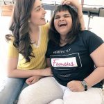 Vidyullekha Raman, Comedy Actress, smile, friend