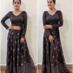 kavya thapar, Market Raja mbbs Actress, black dress, winsome