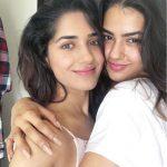 kavya thapar, co actress, hug