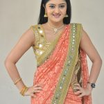 Akshitha, Prementha Panichese Narayana Actress, orange saree, Good