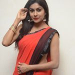 Akshitha, Prementha Panichese Narayana Actress, red saree