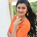 Akshitha, loose hair, cute