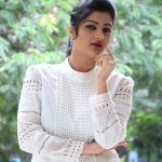 Akshitha, white dress, lovable